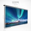 Dimension of a big screen outdoor TV.