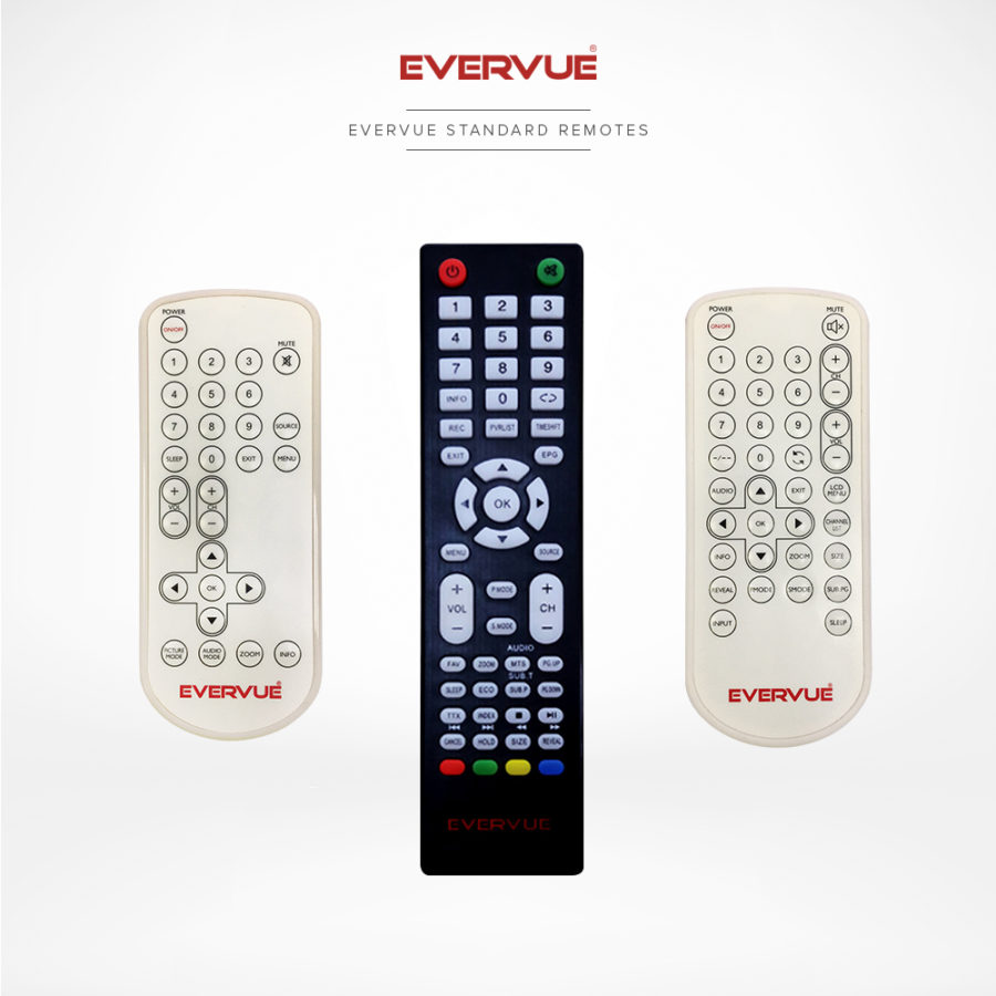 Simple and ordinary remote controls, but provide the required functionality.